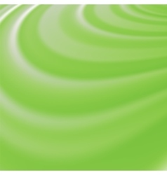 Abstract Glowing Green Waves vector
