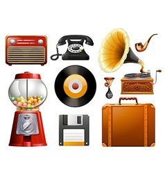 Antiques vector image