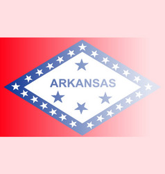Arkansas state flag fade background vector