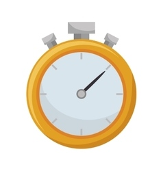 chronometer watch icon vector image