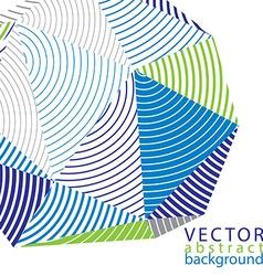 Complicated 3d backdrop modern digital technology vector