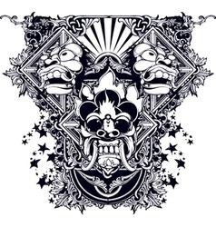 Evil design vector