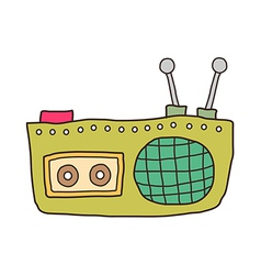 icon radio vector image vector image