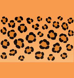 leopard print texture background vector image
