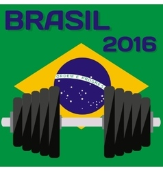 Rio Brazil 2016 Olympic Summer Games Abstract vector