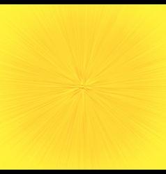 Speedline Zoom Effect Cartoon Yellow vector