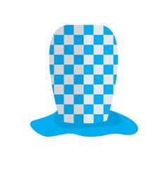 textured traditional oktoberfest hat vector image