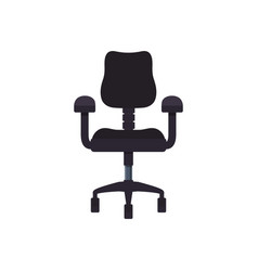 chair office object vector image