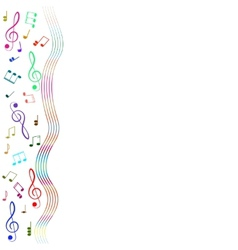 Treble clef for your design A vector image vector image