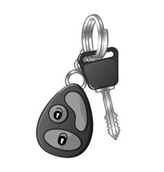 Autos key eps10 vector image vector image