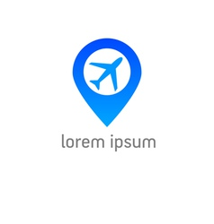 Airport check in vector