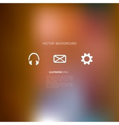Defocused abstract texture background with web vector