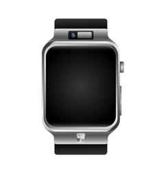 Digital wristwatch vector