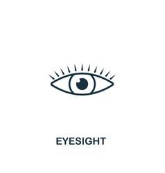 eyesight icon premium style design from vector image
