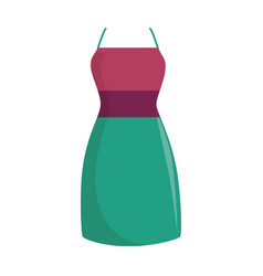 Fashion female garment icon vector