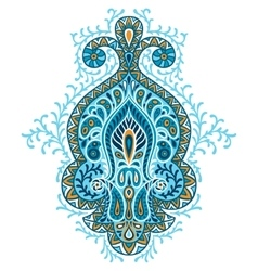 Indian ethnic ornament Hand drawn ecorative vector image vector image