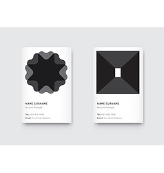 Minimal Black and White Graphic Trendy Vertical vector