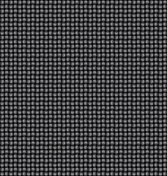 Seamless black interweaving texture vector image