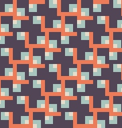 Vintage retro abstract seamless background vector image