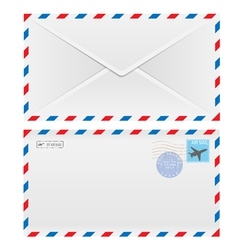 air envelope vector image