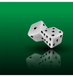 3d dice vector image