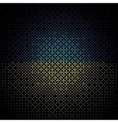 abstract colored background on black vector image