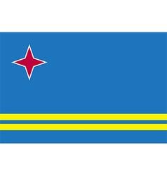 Flags of aruba vector