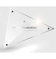 Glass Textured Background vector image