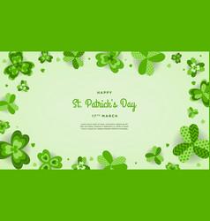 happy st patricks day wallpaper vector image
