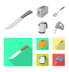 kitchen and cook logo set vector image
