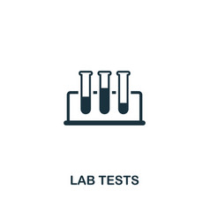 lab tests icon premium style design from vector image