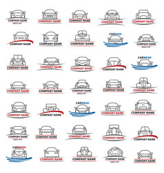 Set cars vector