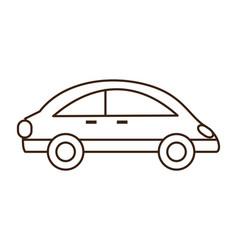 small car icon image vector image
