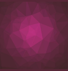 Smooth polygonal background in mulberry magenta vector