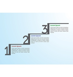 step step infographic template vector image