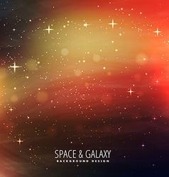 Universe stars background vector