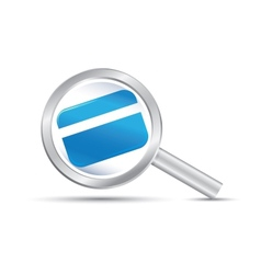 Search the credit vector image vector image