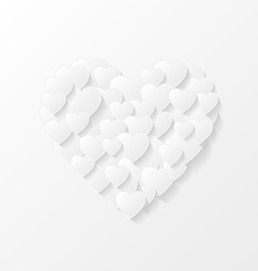 Abstract valentine background vector image vector image
