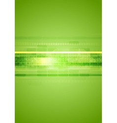 Hi-tech green abstract background vector image