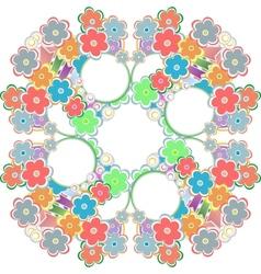 Seamless abstract hand-drawn waves pattern wavy vector image