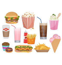 the set of of the different vector image vector image