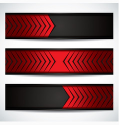 Carbon fiber banners vector