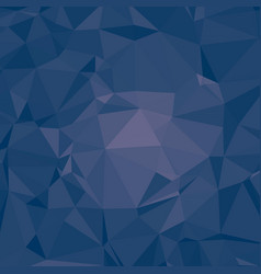 Dark iris blue polygonal background vector