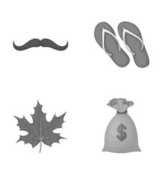 Fashion symbol and other monochrome icon in vector