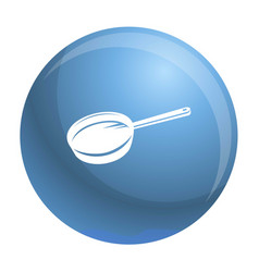 Griddle icon simple style vector