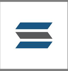 Initials s logo abstract vector