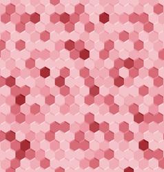 Pink retro background vector image