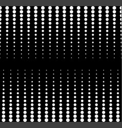 Seamless pattern vertical rows of circles vector