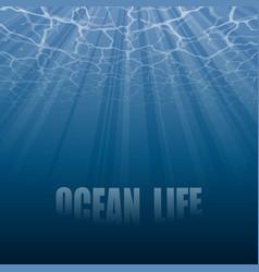 under water wallpaper vector image
