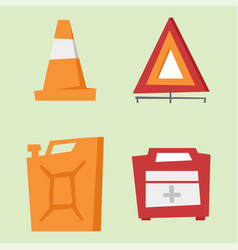 auto transport motorist icon symbol vehicle vector image vector image